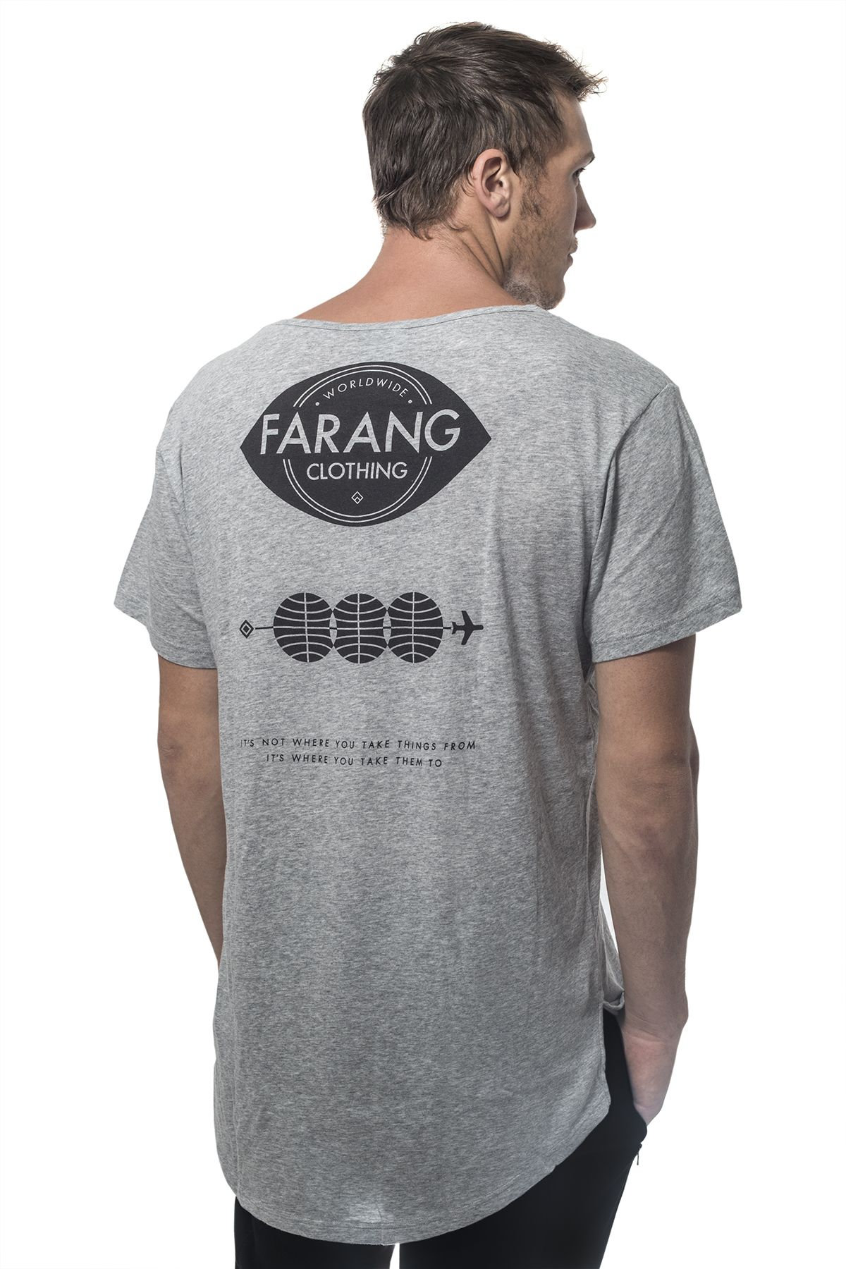 Farang Weightless Grey Tee