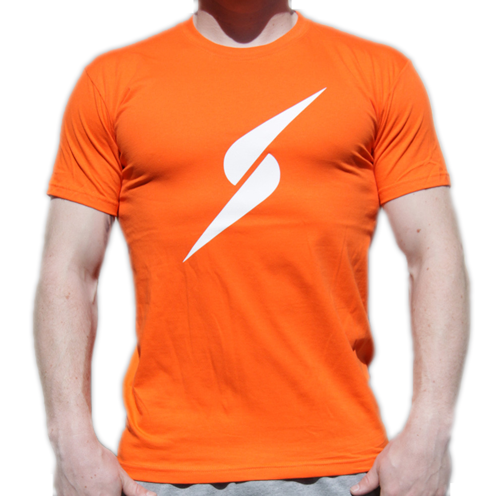 Storm Strike TShirt (Orange)