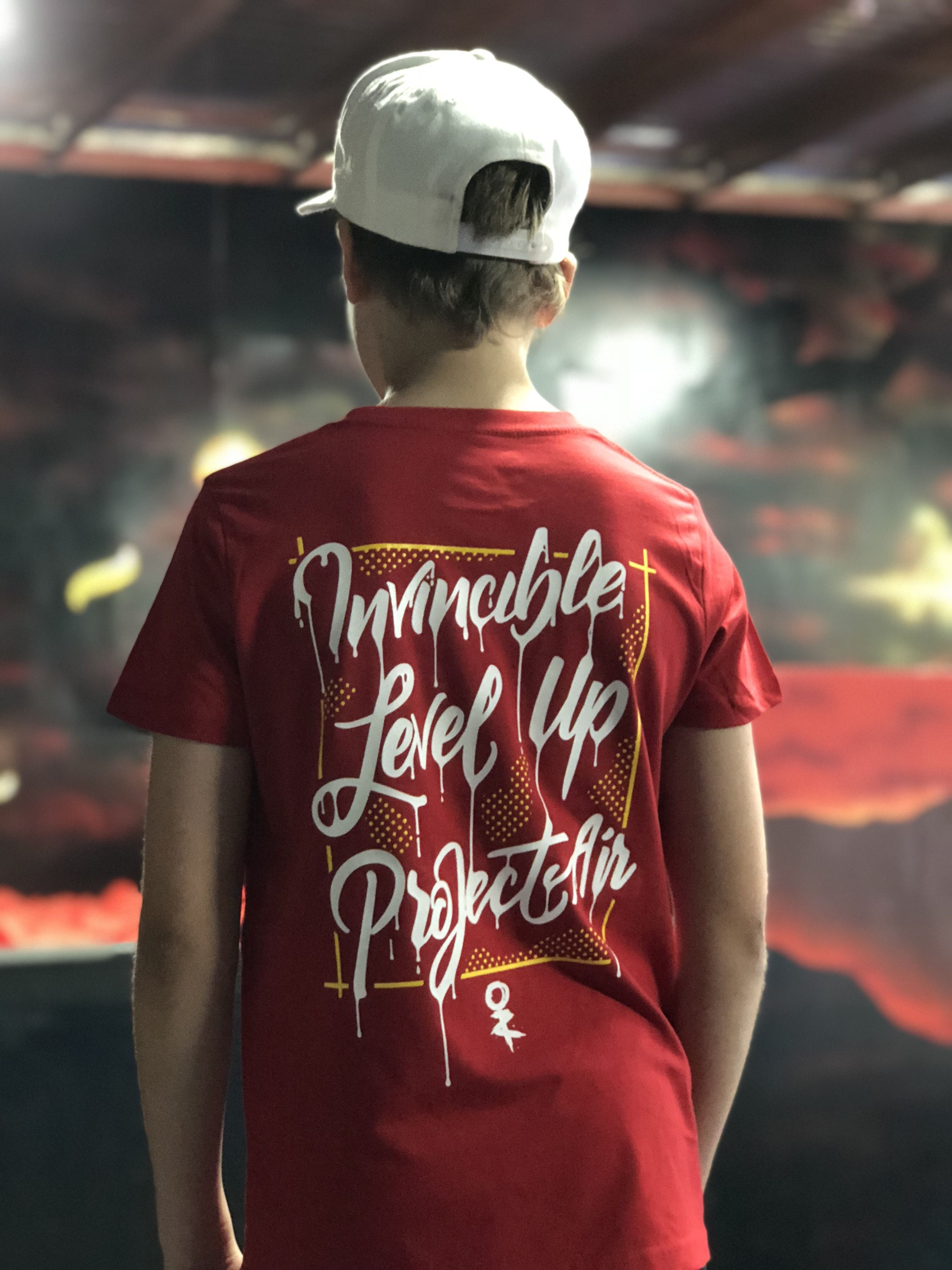 Project AIR x Invincible Kids Tee - Red