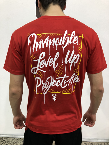 Project AIR x Invincible Tee - Red